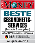 Siegel Focus Money - Beste Gesundheitsservices